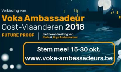 Aqtor! genomineerd als kandidaat Voka Ambassadeur 2018