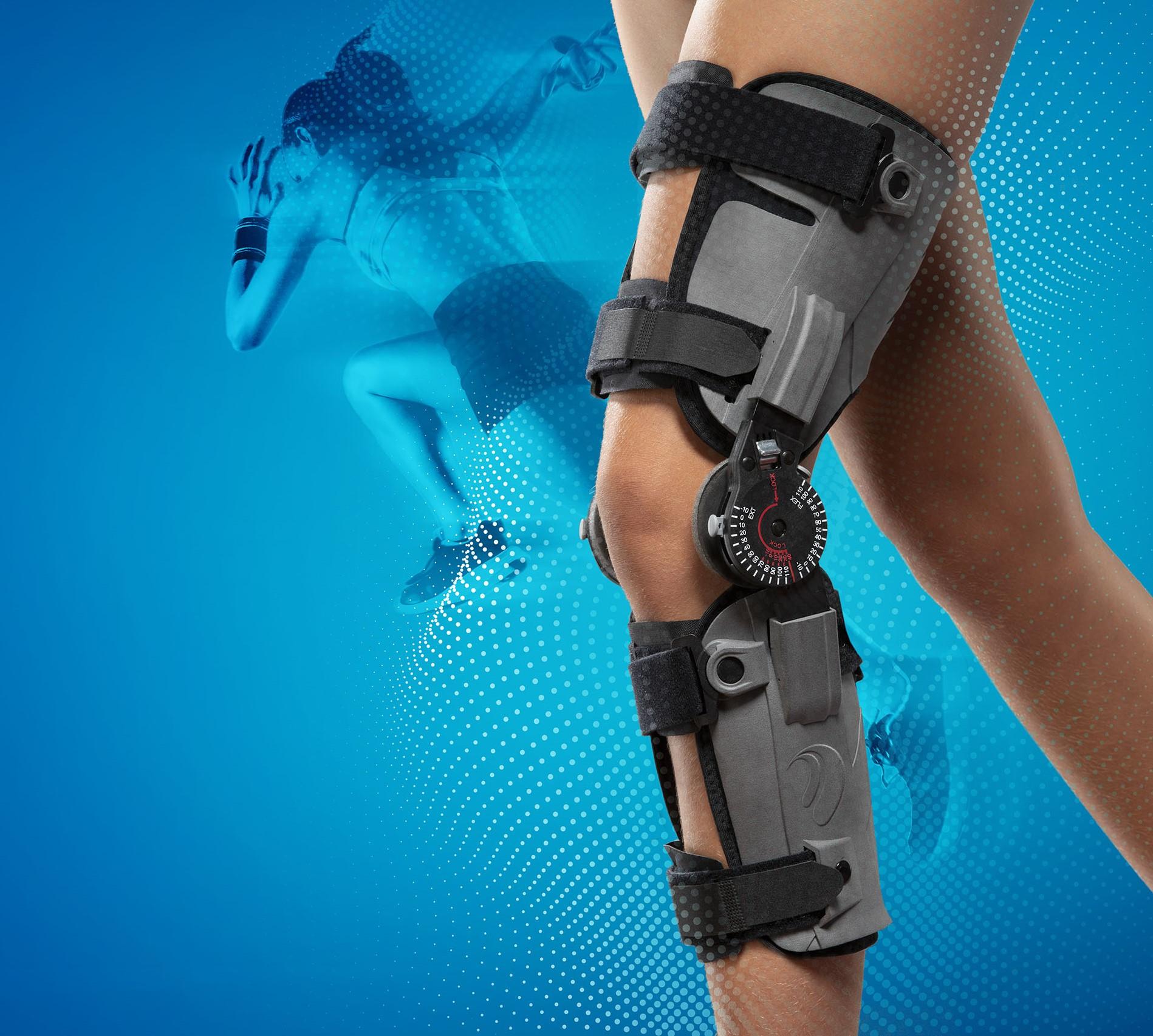 New! Poko 3D Kniebrace, Uitzonderlijk licht & comfortabel