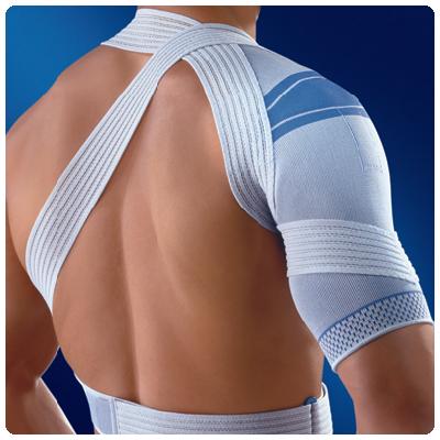 Elastische schouderbandage